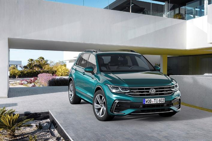 Новый Volkswagen Tiguan 2020 рестайлинг